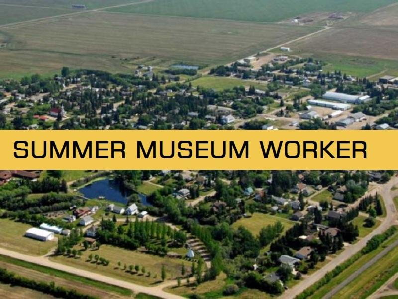 summer museum worker