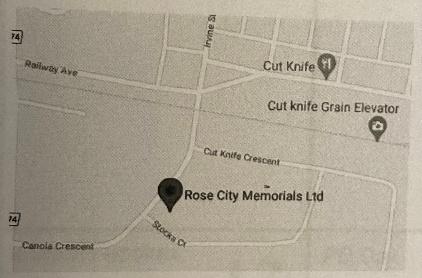 Road map for Rose City Memorials