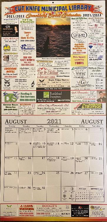 2021 Community Calendar