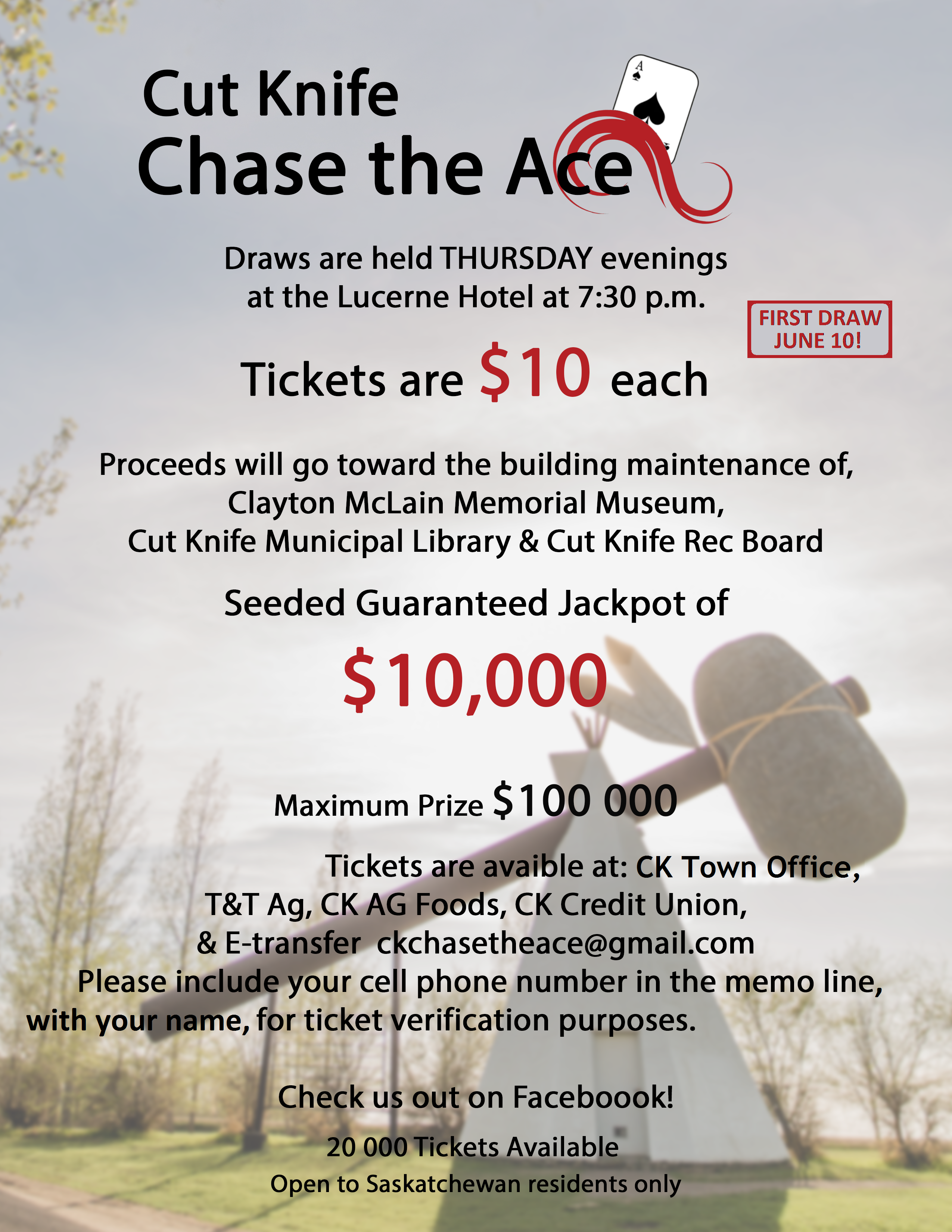CK Chase the Ace Community Fundraiser