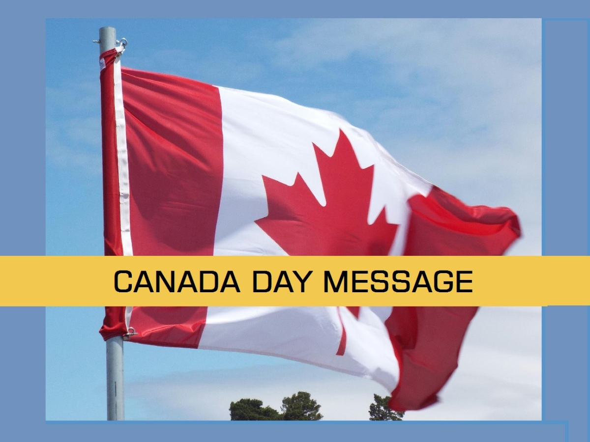 Canada Day Message