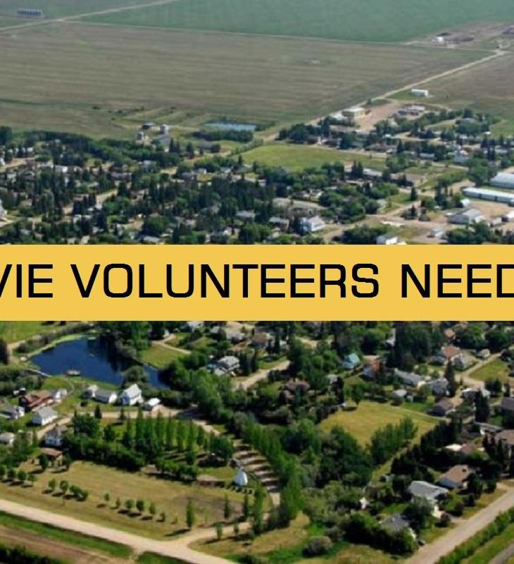 movie volunteers needed